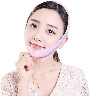 V Gezichtsvermageringsmasker Riemverbanden Dubbele kinverzorging Gezichtsriemen Liftende huid Dubbele kinverkleiner voor c...
