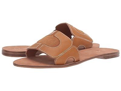 Diane von Furstenberg Link Slide (Cuoio Leather) Women