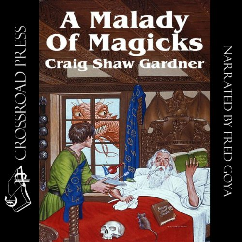 A Malady of Magicks audiobook cover art