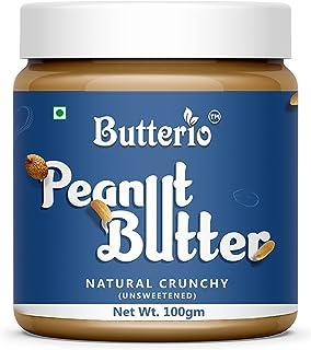 Butterio Natural Crunchy Peanut Butter (100gm)