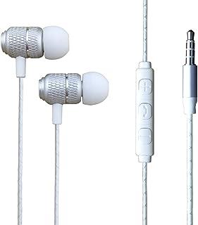 Galaxy A52 5G - Hörlurar In-ear hörlurar med 3,5 mm uttag [Fjärrkontroll och mikrofon] Bullerisolerande, hög definition fö...