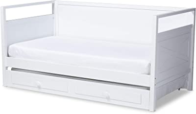Amazon.com: Camaflexi Day bed, Twin, White: Kitchen & Dining