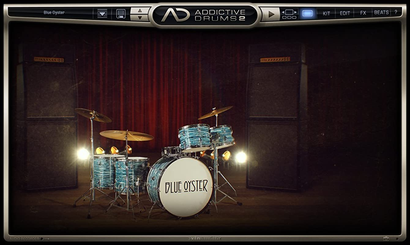 ぺディカブペネロペ説得XLN Audio Blue Oyster Addictive Drums 2専用拡張音源