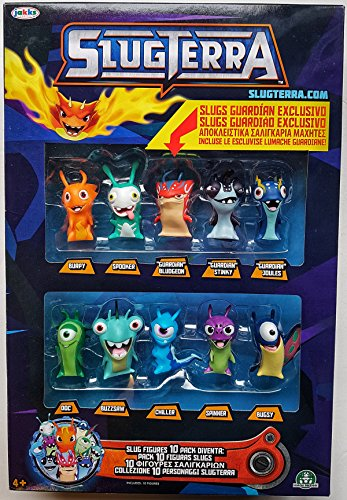 Giochi Preziosi Slugterra - Súper Pack 10 Figuras Slugs