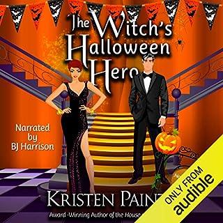 The Witch's Halloween Hero audiobook cover art
