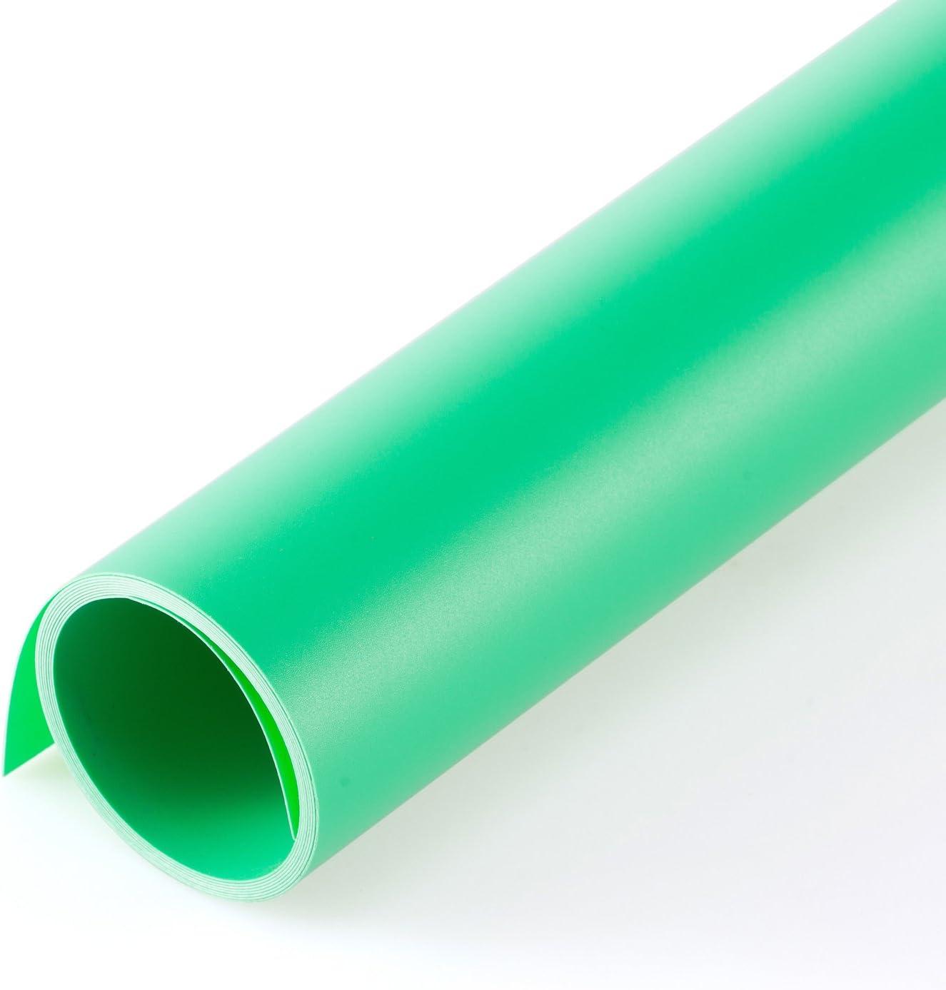 Meking Photography Backdrop Matte PVC background 4780 inch 120200cm White /& Black /& Gray /& Green kit