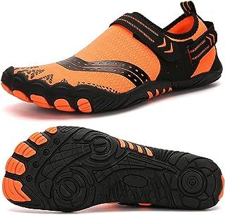 Lixada Chaussures de Plage Chaussure Aquatique Homme Femme Barefoot Chaussures d'eau de Sport Antidérapant Séchage Rapide ...