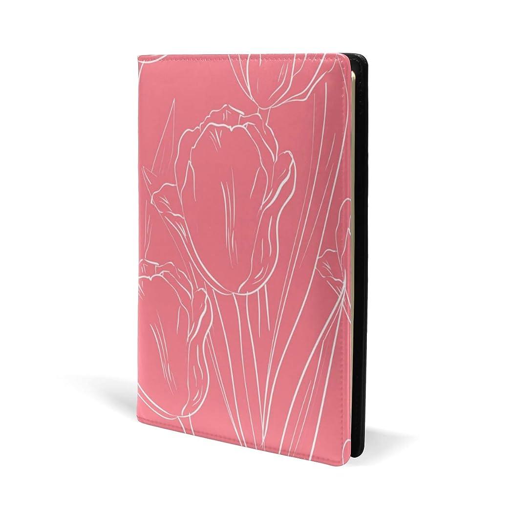 準備振り子落ち着くブックカバー a5 花柄 ピンク きれい 文庫 PUレザー ファイル オフィス用品 読書 文庫判 資料 日記 収納入れ 高級感 耐久性 雑貨 プレゼント 機能性 耐久性 軽量