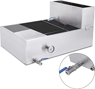 VEVOR Maple Syrup Evaporator Pan Maple Syrup Boiling Pan Stainless Steel Square Pan for Boiling Syrup (30