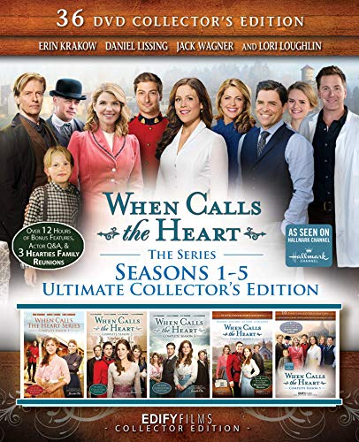 When Calls the Heart - Seasons 1-5 Ultimate Collector's Edition