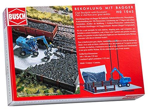 Busch 1045 - Bekohlung mit Bagger, Fahrzeug