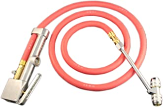 Milton (553) Heavy-Duty Truck Tire Inflator Gauge with 5 ft. Air Hose