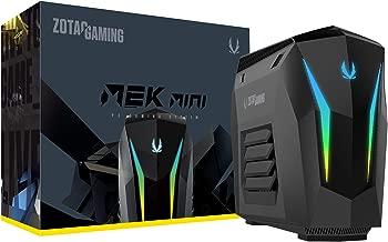 ZOTAC Gaming MEK Mini Gaming PC, GeForce RTX 2060 6GB GDDR6, 6-Core Intel Core i5-9400F, 16GB DDR4/240GB Nvme SSD/1TB HDD/Windows 10 System, GM2060C5R1B-U-W2B