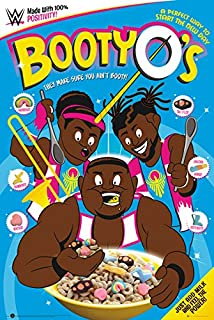 WWE Bootyo's - Poster/Print (Cereal) (Size: 24 inches x 36 inches)