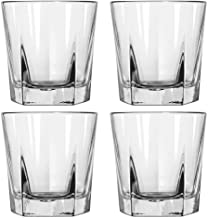 Whiskey Glasses Set of 12-12 oz Double Old Fashioned Rocks Glasses, Thick, Heavy Base Tumblers for Drinking Scotch, Bourbon, Cognac, Irish, Whiskey MADE in USA (not in china for a change(Case of 12)