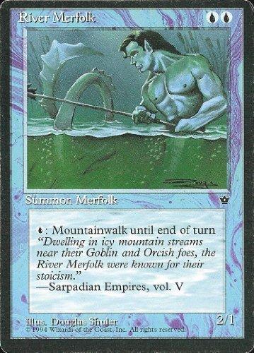 Magic The Gathering - River Merfolk - Fallen Empires