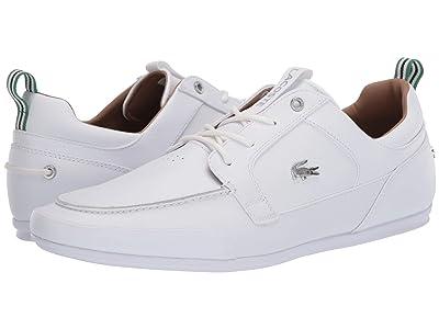Lacoste Marina 120 1 US (White/White) Men