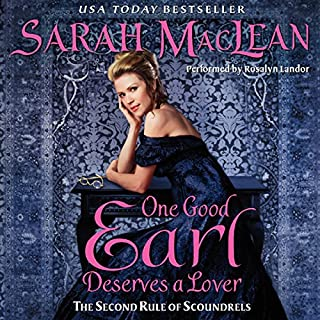 One Good Earl Deserves a Lover audiobook cover art