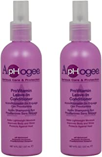 "ApHogee ProVitamin Leave-In Conditioner 8oz""Pack of 2"""