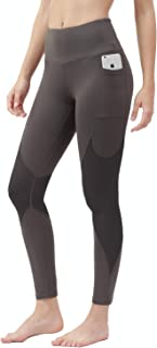 TYUIO Yoga Pants with Pocket High Waist Sports Tights Workout Leggings for Women