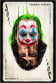 Joker 2019 (Version D, Joaquin Phoenix) Movie Poster 24