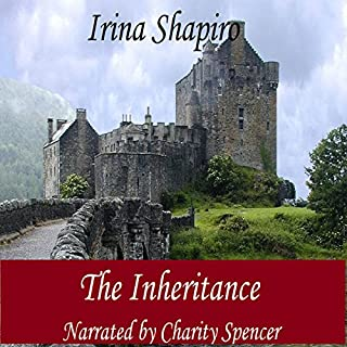 The Inheritance                   By:                                                                                                                                 Irina Shapiro                               Narrated by:                                                                                                                                 Charity Spencer                      Length: 5 hrs and 23 mins     41 ratings     Overall 4.1