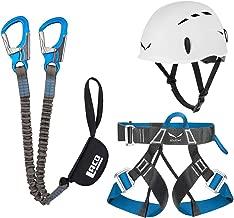 LACD Klettergurt Start Größe L für Sportklettern Klettersteig Kletterhalle
