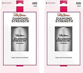 Sally Hansen Diamond Strength Instant Nail Hardener 3478 Clear, 0.45 Fl Oz, Pack of 2