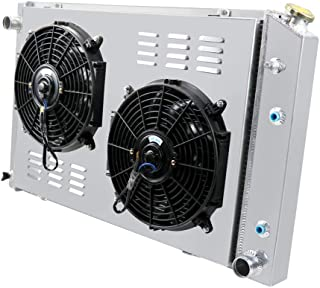 Primecooling 56MM 3 Row Core Aluminum Radiator +2X12