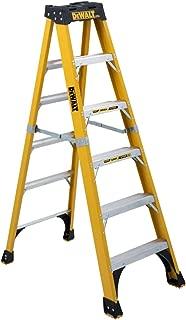 DeWalt DXL3810-06 Step Ladder, 6-Feet, Silver