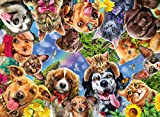 Ravensburger 15042 Funny Animal Selfie 500 Piece Puzzle for Adults - Every Piece is Unique, Softclick Technology Means Pieces Fit Together Perfectly