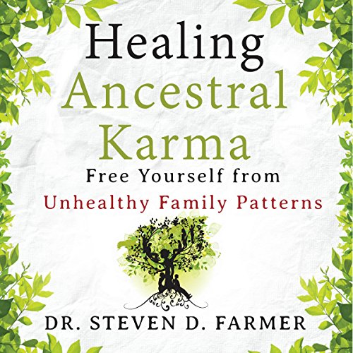 Healing Ancestral Karma audiobook cover art