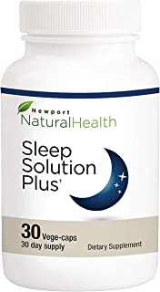Newport Natural Health Sleep Solution Plus 30 Vege-caps (30-Day Supply)