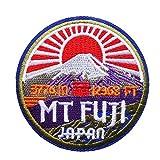 MiroSan Japan MT FJUI Patch Mount Fuji Patch...