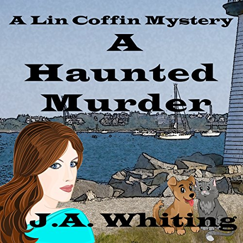 A Haunted Murder audiobook cover art