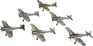 プレックス/プラッツ 荒野のコトブキ飛行隊 完全版 隼一型 コトブキ飛行隊 6機セット(キリエ機/エンマ機/ケイト機/レオナ機/ザラ機/チカ機) 1/144スケール プラモデル KHK144-K1