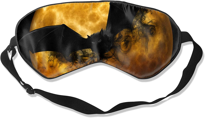 Halloween Bat Soft Sleeping Eye Limited Max 89% OFF price Mask Sleep Block-Light Cover