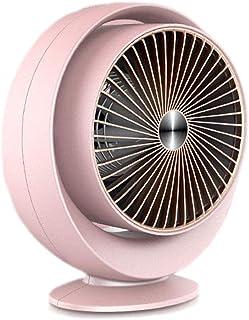YLOVOW Calefactor Función Silence Mini Calentador De Ventilador De Cerámica Eléctrico contra Sobrecalentamiento Portátil Protección para Hogar,Rosado