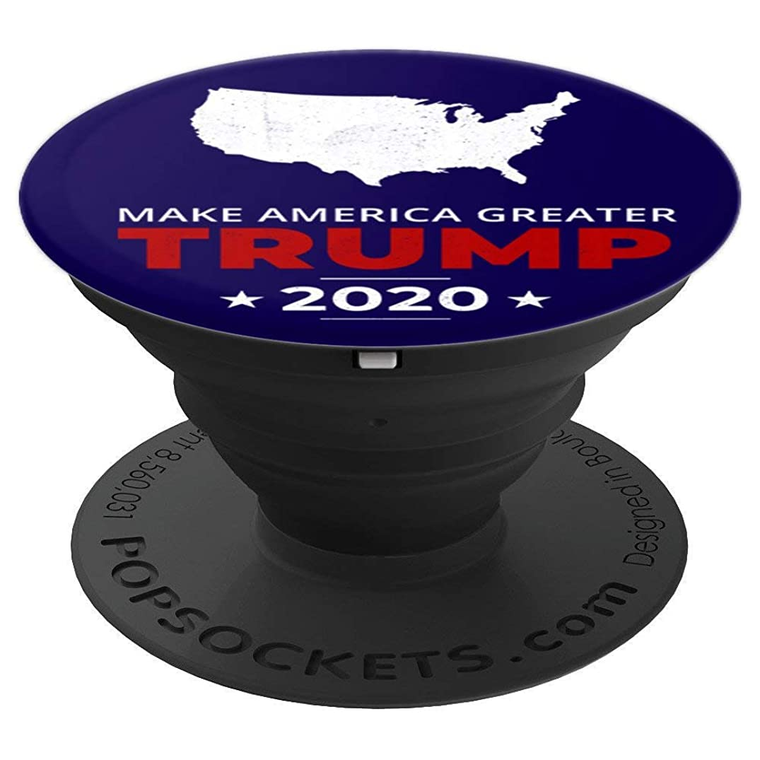 Trump 2020 Vote Make America Greater Vintage Gift Men Women - PopSockets Grip and Stand for Phones and Tablets
