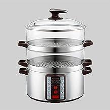 HHTD Cuisinière Smart Electric Steamer Type Transparent Type Électrique Électrique Cuisine Ménage