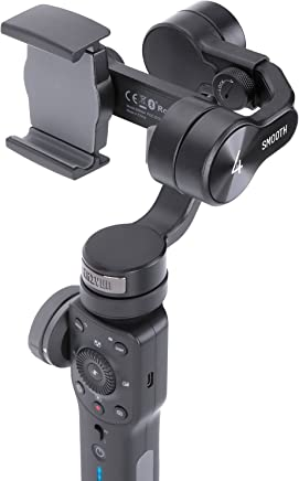 $99 » Zhiyun Smooth 4 [Official] Handheld Smartphone Gimbal (with Tripod), Black