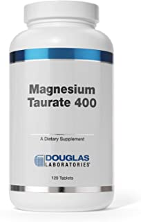 Douglas Laboratories - Magnesium Taurate 400 - Supports Normal Heart Function and Bone formation - 120 Tablets