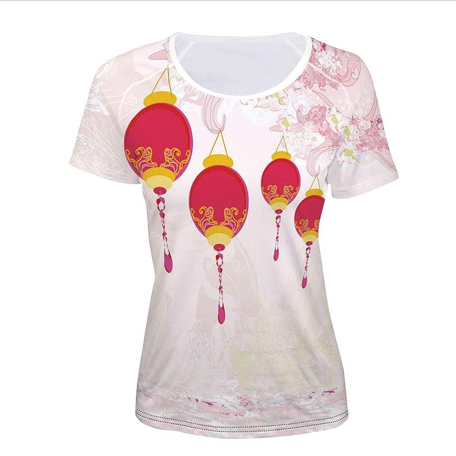 T-Shirt,Calendar Celebrations Eastern Imagery Abstract,Women 3D Print