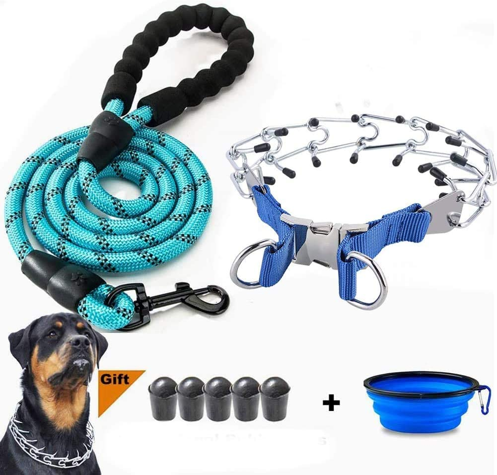 VCZONE Dog Prong Collar Steel Weekly update Pinch Ranking TOP6 Adjustable Stainless