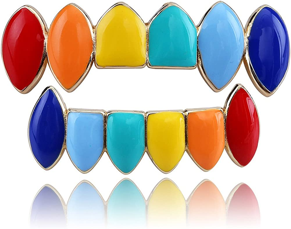 Lowest price challenge Moca Jewelry 14k Gold Silver Plated and shopping Bottom Color Rainbow Top