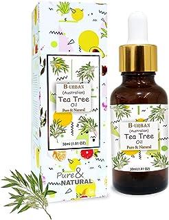 B-URBAN Tea Tree 100% Pure Australian Certified Non GMO Essential Oil 30ml
