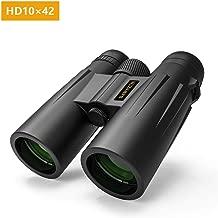 10x42 Binoculars for Adults and Kids, Dawnzon BAK-4 Prism FMC Lens HD Portable Binoculars for Bird Watching Hunting Concerts