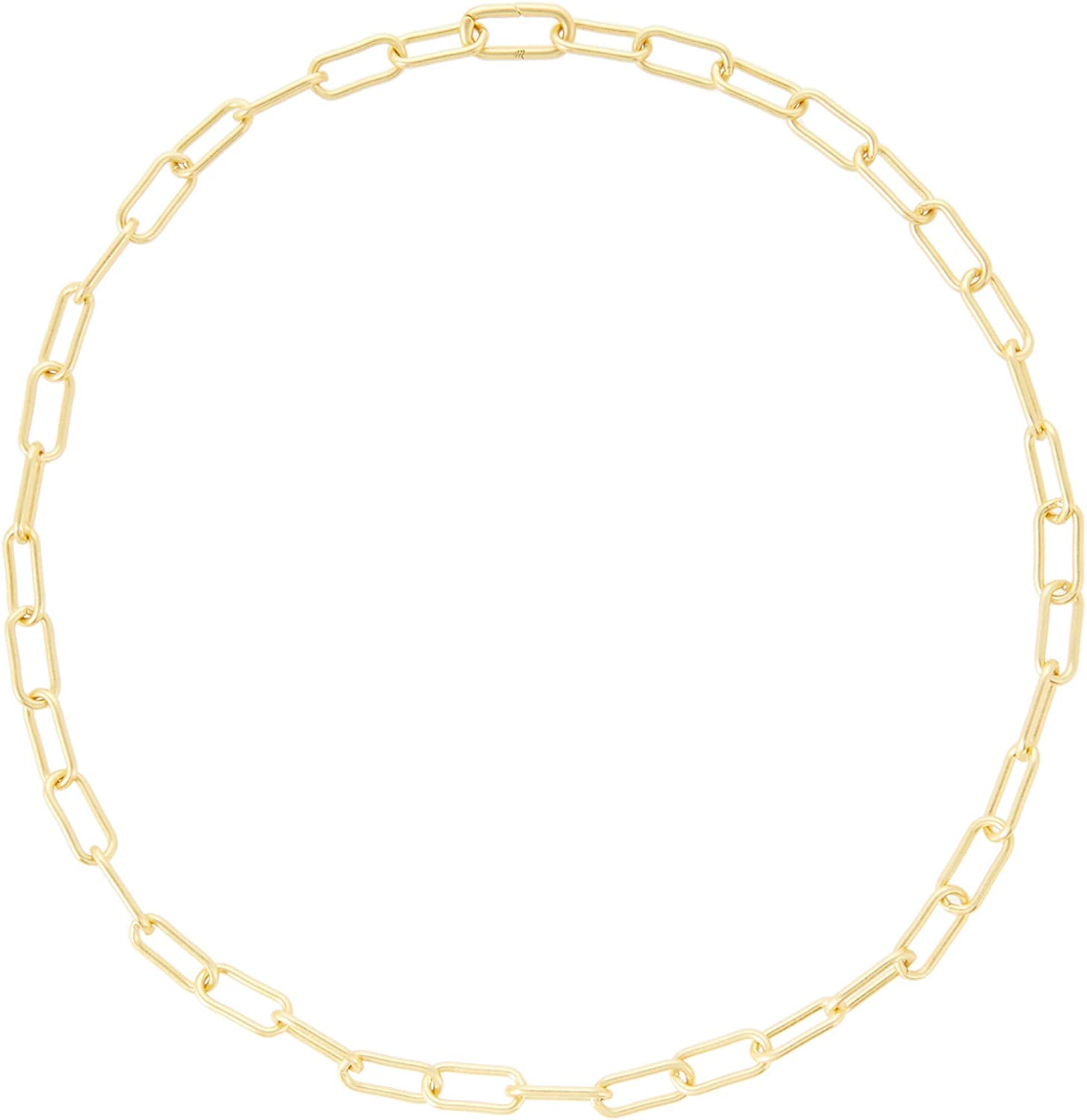 Madewell Chunky Paperclip Chain Necklace