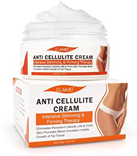 Anti Cellulite Cream, Slimming Cream for Tummy, Abdomen, Belly and Waist - Firming Cream - Hot Cream for Weight Loss, Body Fat Burning Massage Gel - 100g