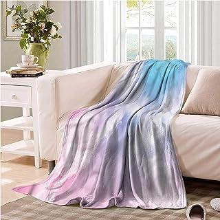Oncegod Baby Blanket Pastel Fantasy Mystic Sky Fog Bedding Throw, or Blanket Sheet 60